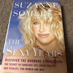 Suzanne Somers hardcover book